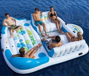Tropical Tahiti Floating Island 6 person