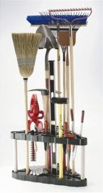 Rubbemaid 30-Tool Corner Tool Rack