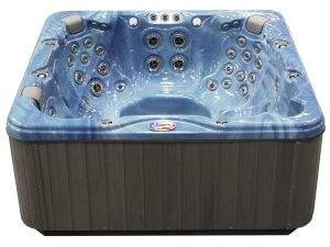 American Spas AM-756LP 6-Person 56-Jet Lounger Spa