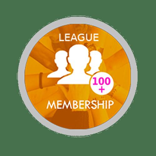 Pool Stats Leagues 100+