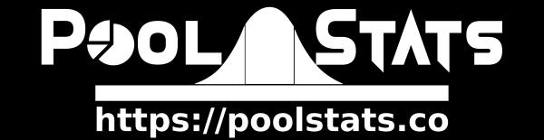 Pool Stats Vinyl Sticker