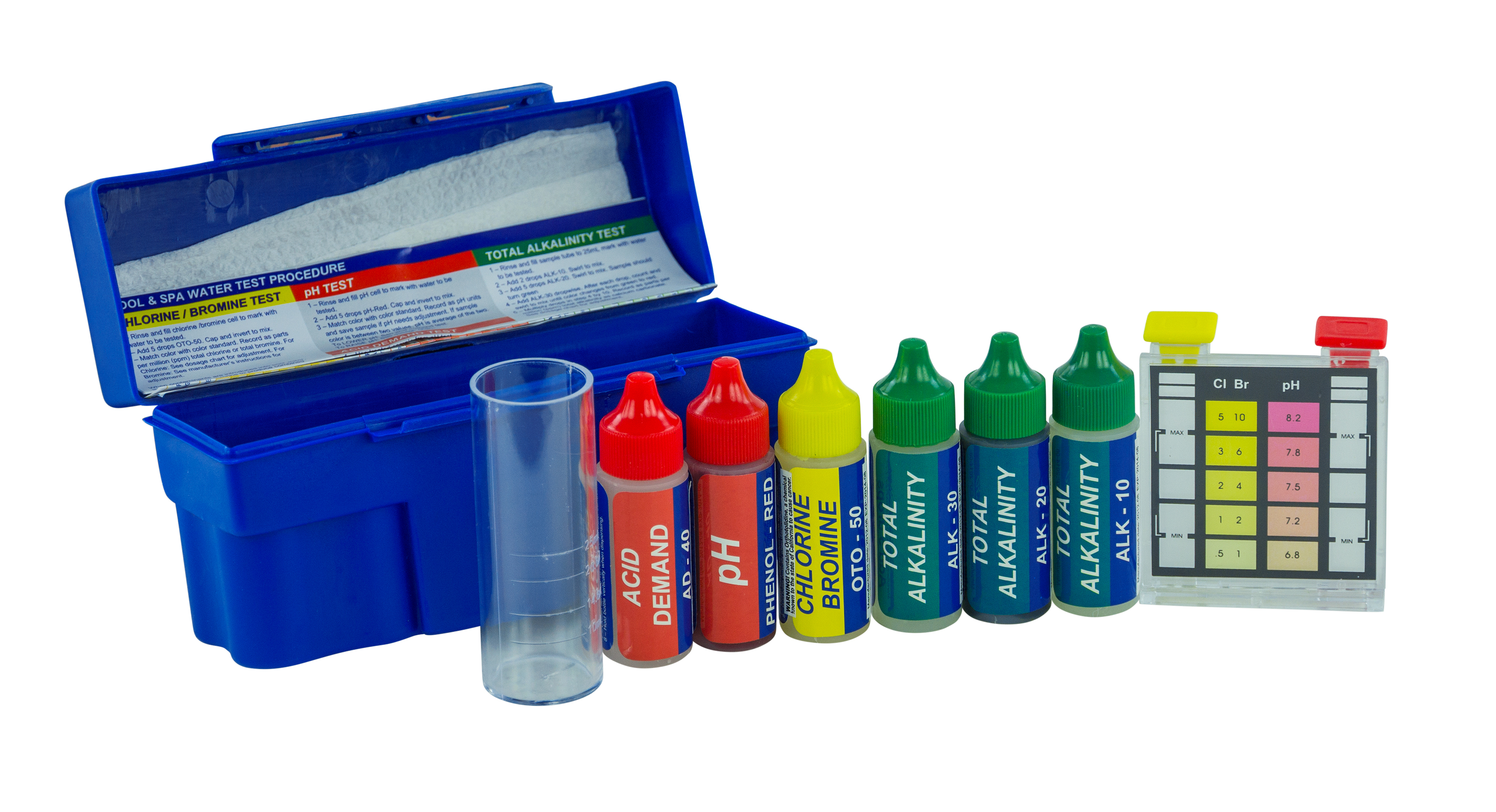 5 In 1 Reagent Test Kit Poolsupplies Com