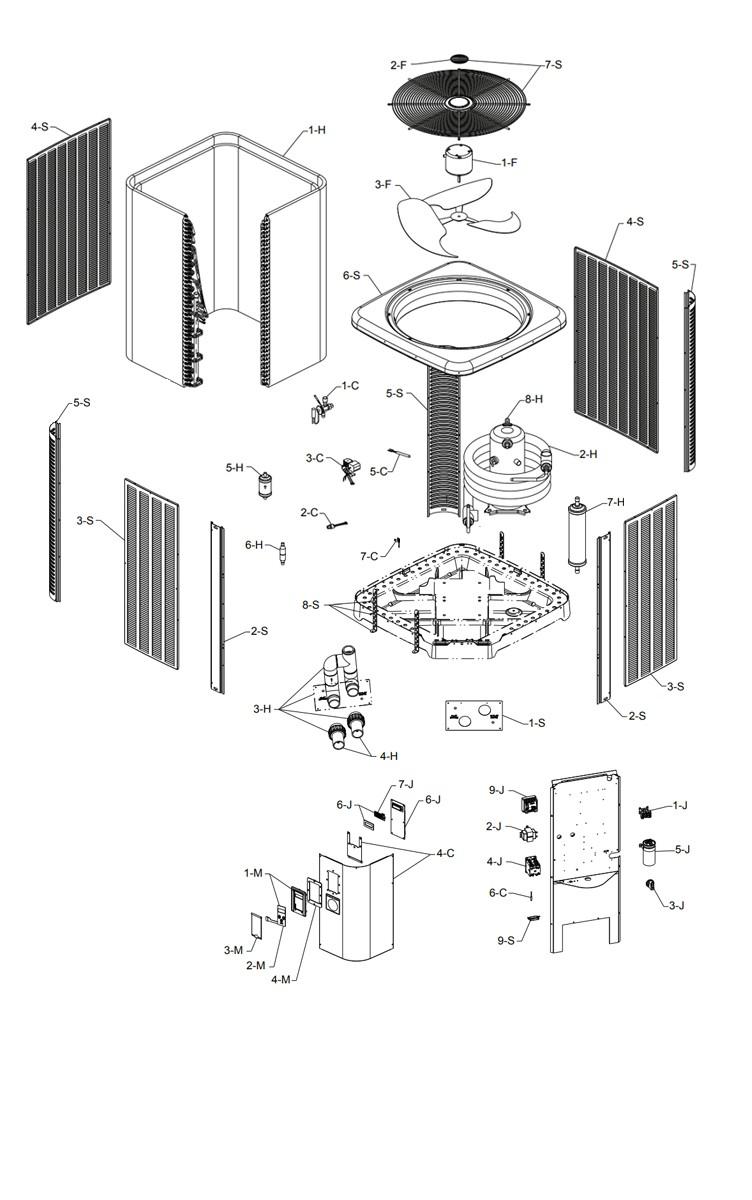 Heat Pump Parts Diagram : parts, diagram, Supply, Unlimited, Raypak, Model, Titanium, Exchanger, Digital, Controls, M5450ti-E, 016012, R5450ti-E, 016010, Parts