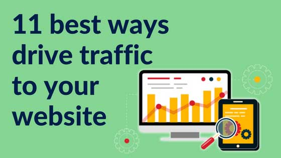 11 best ways to drive traffic to your website