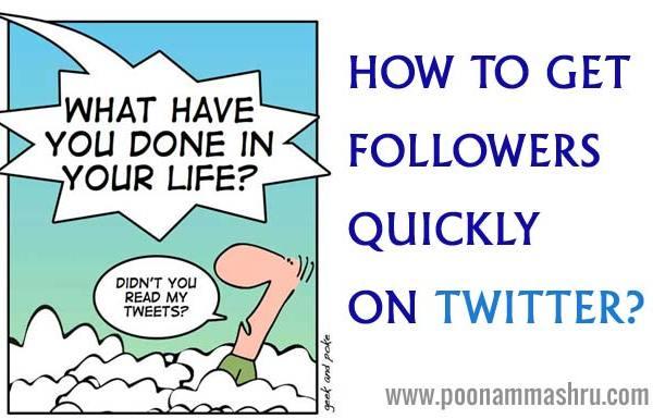how to increase followers on twitter poonam mashru blog