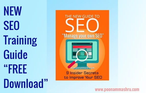 free seo training guide poonam mashru