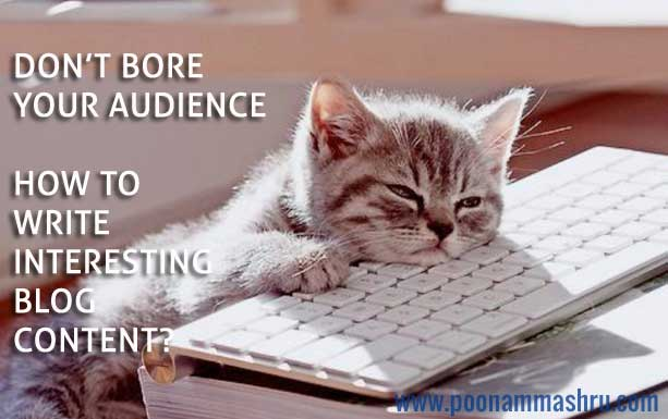 best blogging tips poonam mashru content writing