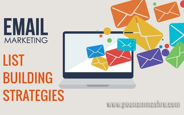 email list building tactics poonam mashru tips