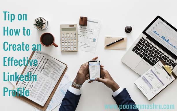 how to create linkedin profile poonam mashru blog