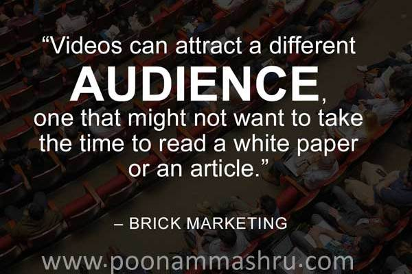 free video marketing course - poonam mashru blog