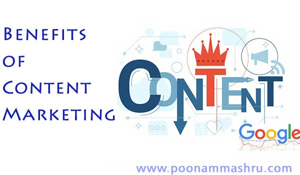 content marketing benefits tips poonam mashru