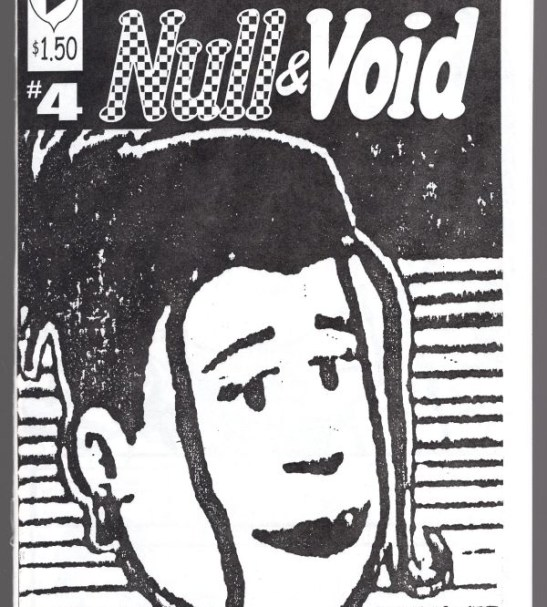 Front cover for Null & Void #4