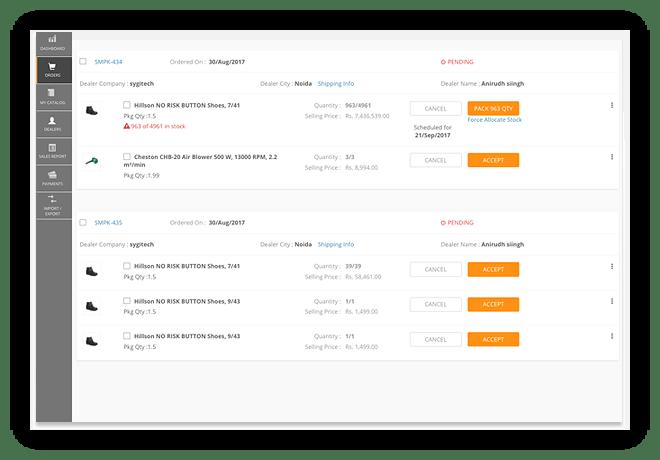 Sales Order Management System, Cloud Based Customer Order