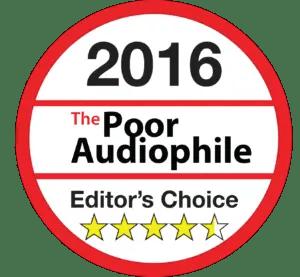 Poor Audiophile Editor's Choice Award — 4.5 Stars