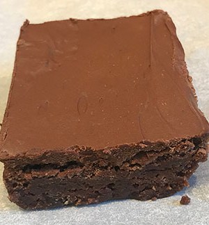 Rum Raisin Brownie