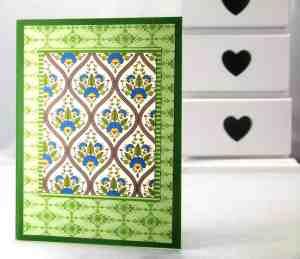 stampin' up international bazaar notebook