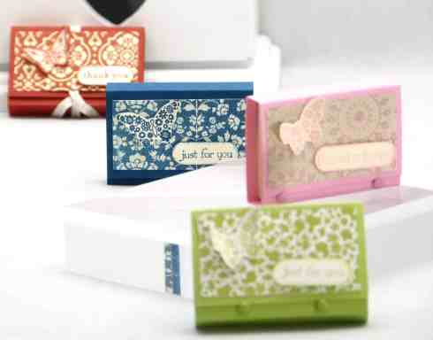 May 2013 Mini Post It Note Holder Video Tutorial