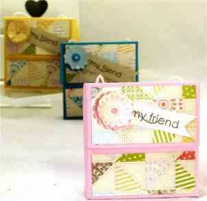 Stampin' Up! UK Secret Closure Gift Treat Soap Box