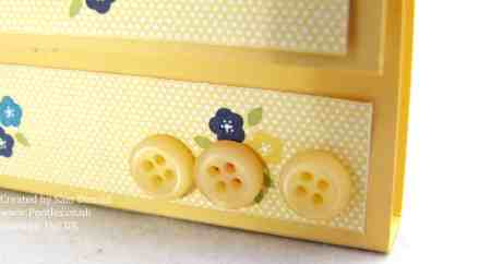 Pootles Stampin Up Gingham Garden Post it note Holders 4 (2)