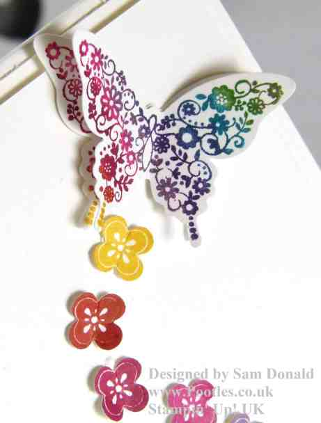Pootles Stampin Up A Regal Butterfly