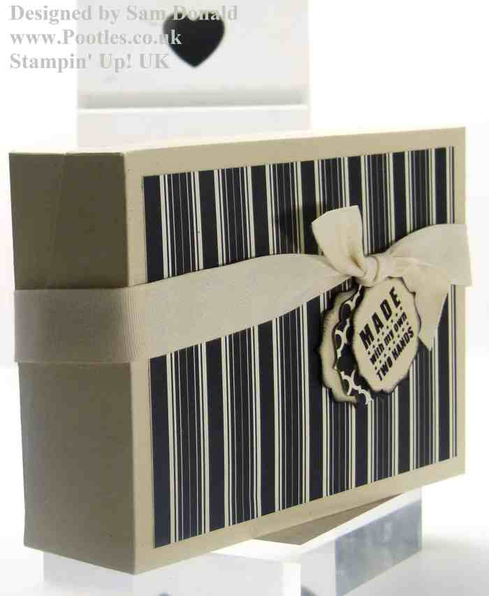 Pootles Stampin Up Sloping Sided Box 4