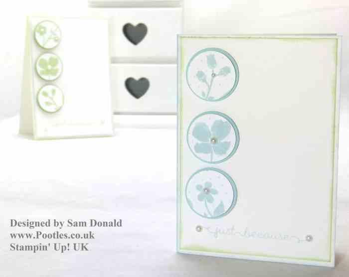 Pootles Stampin Up UK Wildflower Meadow Elemental Card 3