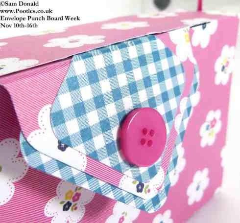 POOTLES Stampin Up ENVELOPE PUNCH BOARD WEEK The Clutch Bag 3