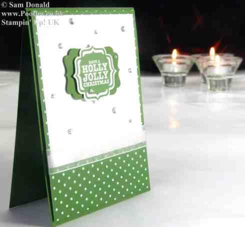 Stampin Up UK Garden Green Jolly Holly Christmas 2