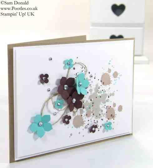 POOTLES Stampin' Up! UK Petite Gorgeous Grunge Petals! 2