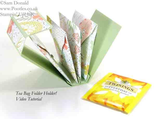 March - Tea Bag Holder