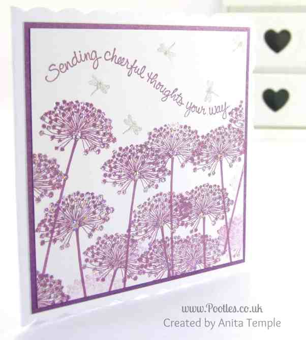 Stampin' Up! UK Demonstrator Pootles - Serene Sillhouettes Inspired Card Anita's Card