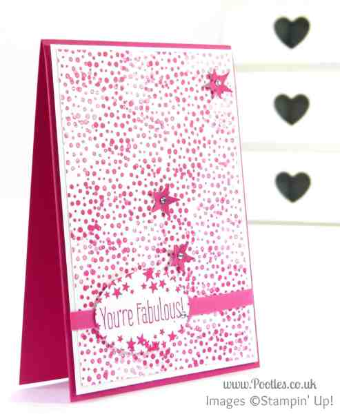 Stampin' Up! UK Demonstrator Pootles - High Five for an Optical Illusion Card...
