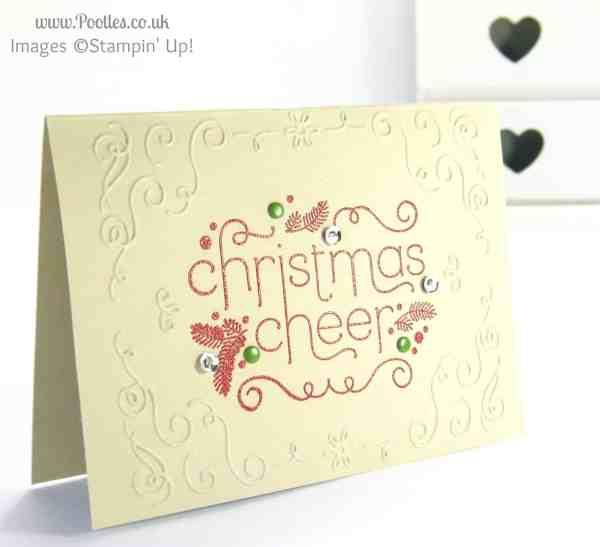 Stampin' Up! UK Demonstrator Pootles - Christmas Cheer Catalogue Copy!!!