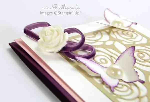 Pootles - Stampin' Up! Artisan Embellishment Kit Velvet Trim