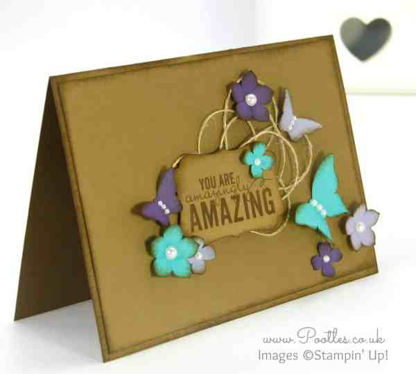 Pootles' Quirky Colours from Stampin' Up! Cardstock