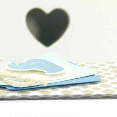 Fold Flat Baby Bib Box Tutorial