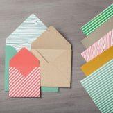in colour envelope paper