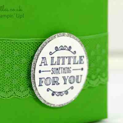 South Hill Designs & Stampin' Up! Sunday Cotton Paper Little Something