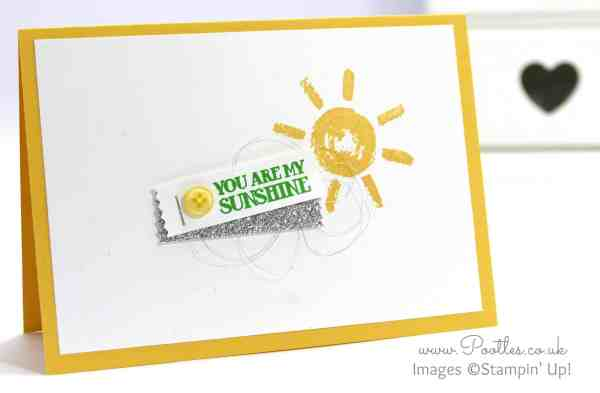 Stampin' Up! Demonstrator Pootles - Simply Stamped, You are my Sunshine