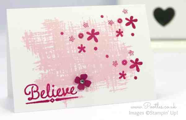 Stampin' Up! Demonstrator Pootles - Single Layer Stamping with 3 Stamps!