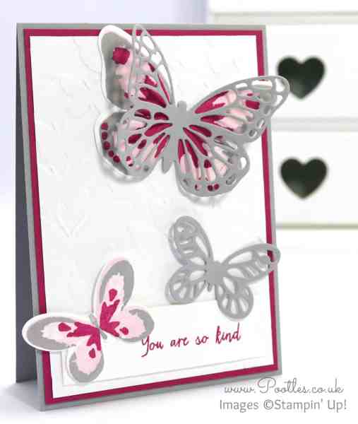 Stampin' Up! Demonstrator Pootles - Watercolor Wings, Bold Butterflies and Fluttering!