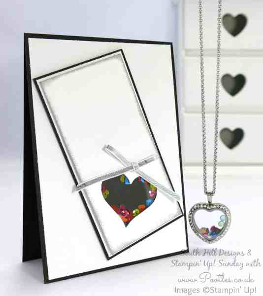 South Hill Designs & Stampin' Up! Sunday Heart Locket Duo