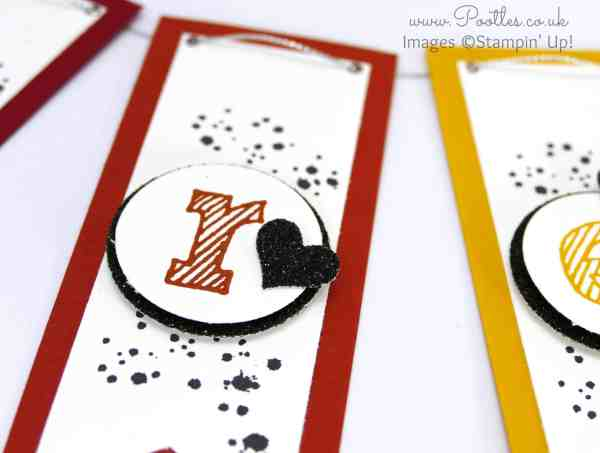 Stampin' Up! Demonstrator Pootles - Create Banner Tutorial using Stampin' Up! Banner Punch Close Up