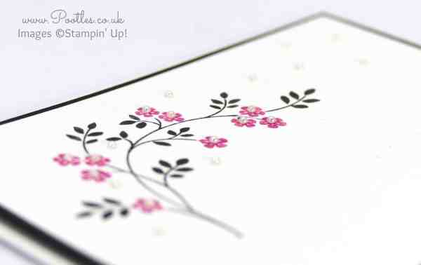 Stampin' Up! Demonstrator Pootles - Hopeful Thoughts using Stampin' Write Markers Side Profile