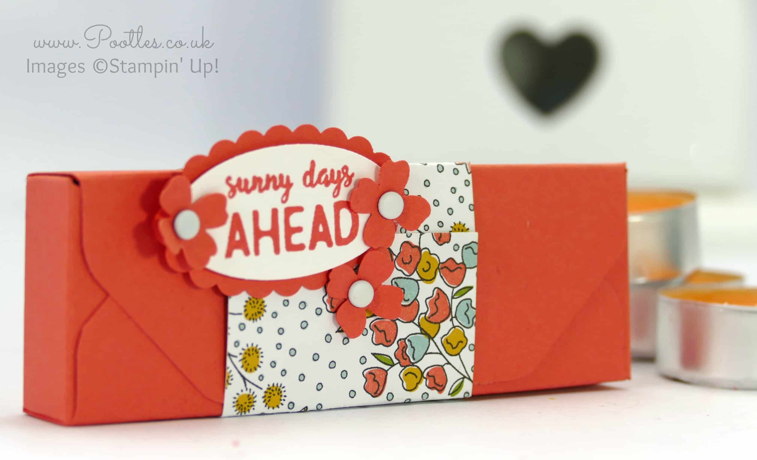 Stampin Up Demonstrator Pootles Envelope Punch Board