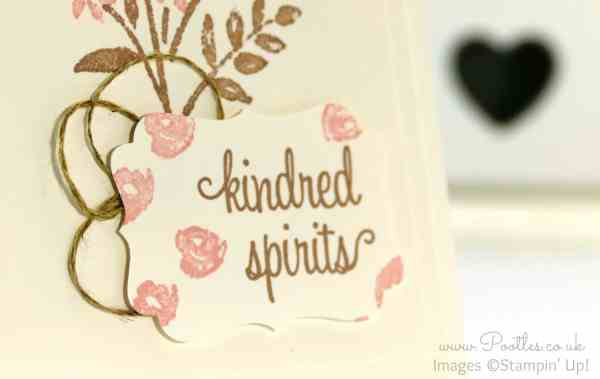 Stampin' Up! Demonstrator Pootles - Pretty Soft Floral Card for Kindred Spirits! First Sight Stamp