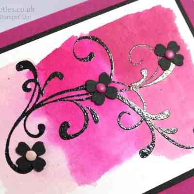 Everything Eleanor, Pinks and Watercolour Paper