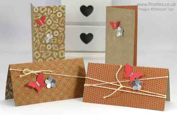 Stampin' Up! Demonstrator Pootles - 12 Cards using Shine On Speciality DSP Watermelon Wonder