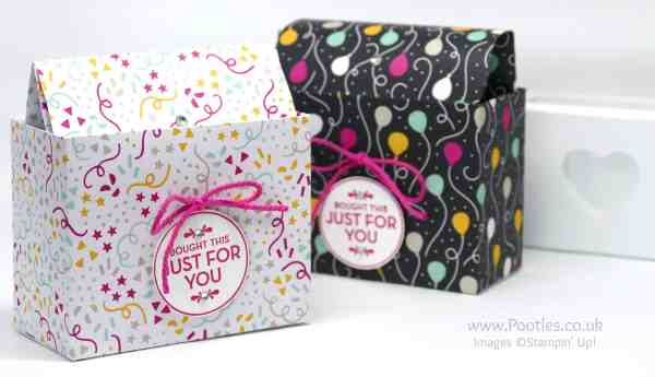 Stampin' Up! Demonstrator Pootles - Clever But Simple Bag in a Box Tutorial
