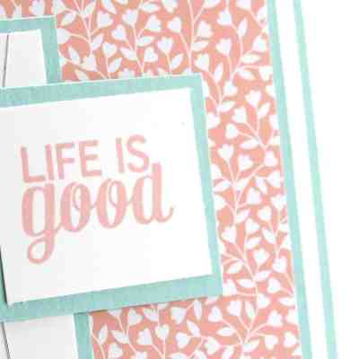 Life is Good with Project Life and Love Blossoms